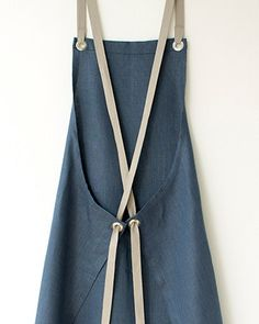 Kitchen Apron  Slate-Blue