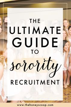 Sorority Recruitment Survival Guide - The Honey Scoop Recruitment Survival Kit, Sorority Rush Week, Sorority Recruitment Themes, Sorority Recruitment Outfits, College Sorority, Sorority Gifts, Sorority Paddles, Sorority Canvas, Freshman Memes