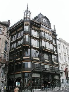 Art Nouveau Building - Brussels