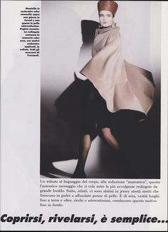 Nicole Nagel / Italian Harper's Bazaar / Photographer: Marco Glaviano