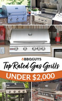 Shop BBQGuys' top picks for the best gas grills on the market! Compare grill rankings in various categories & price tiers. Clean Grill, Bbq Grill, Grilling, Barbecue, Outdoor Kitchen Patio, Outdoor Kitchens, Outdoor Spaces, Small Room Bedroom, Small Rooms