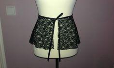 Schößchen Gürtel 'lace it up' - peplum belt von cocisews auf DaWanda.com
