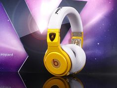 Monster Beats By Dre Ferrari Yellow Commemorative Edition Pro Headphones
