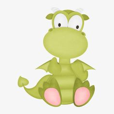 Cartoon Dinosaur, Yoshi, Flooring, Fictional Characters, Cute Animals, Picture Backdrops, Cartoon, Exercises, Green
