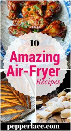 healthy way to eat snacks using hair fryer..here are some air fryer recipes..