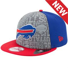 New Era  NFLDraft Reflective 9Fifty Snapback Buffalo Bills Hat b3be7a663