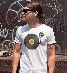 MUSIC IS LIFE férfi póló Music Is Life, Polo, Mens Tops, T Shirt, Fashion, Supreme T Shirt, Moda, Polos, Tee