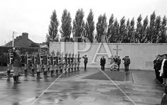 President John F. Kennedy laying a wreath at the grave of the executed 1916 leaders at Arbour Hill cemetery, Dublin. Arbour, John F Kennedy, History Photos, Photo Archive, Jfk, More Photos, Cemetery, Dublin, Presidents