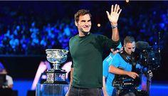 Roger Federer - tirage au sort - Margaret Court Arena - Melbourne - 11 Janvier 2018