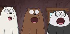 Cartoon Crossovers, Cartoon Memes, Cartoons, 3 Bears, Cute Bears, We Bare Bears Wallpapers, Cute Wallpapers, Bear Meme, Cartoon Profile Pics