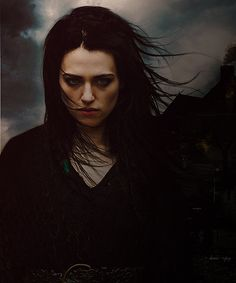 Katie McGrath as Morgana #gothic #vampires
