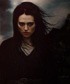 Katie McGrath as Morgana #gothic #vampires