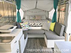 Jayco Pop Up Camper - I love the color scheme. Perfect blend of neutral and fun colors. Camping has reinvented.