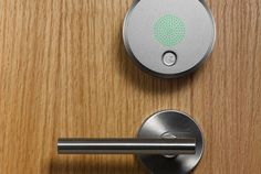 Pocket : From Fuseproject, A Keyless Door Lock You Control With Your Smartphone