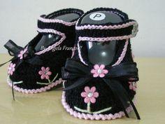 Sneaker Baby Flowers