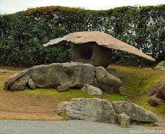 Stone lantern, Sengan-en, Kagoshima