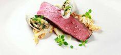 Porterhouse Steak / Marinierter Chinakohl