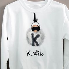 Karlito fur ball ⚪ #new #unounoshirts #sweatshirt #tshirt #karlito #karllagerfeld #fur... | Use Instagram online! Websta is the Best Instagram Web Viewer!