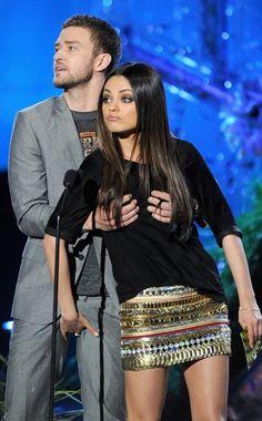 Mila Kunis, Justin Timberlake @Cody Cochran