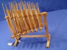 Angklung, Indonesia. Traditional Music instrument