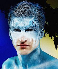 "Mischa Vidyaev Makeup Artist. Photo Elena VolkovaСтанислав Донец, для журнала ""Плав"