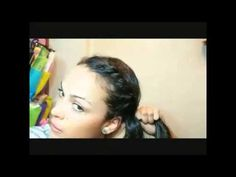 Peinados para días de lluvia - hairstyles for RAINY DAYS - YouTube
