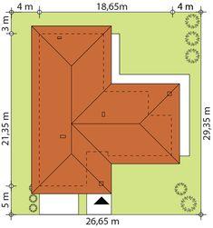 Sytuacja TP Arteo 3 CE Dom, House Plans, How To Plan, Haus, Blueprints For Homes, Home Plans, House Floor Plans, House Design