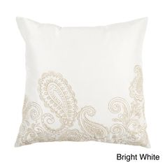 Coqitlam Down or Poly Filled Throw Pillow | Overstock.com 32.99
