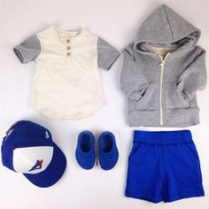 It's home opener day for the Toronto Blue Jays and we are game ready! #ootd featuring the friendly henley, lush hoody, buck short #native