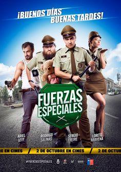 Fuerzas especiales (2014), José Miguel Zúñiga.
