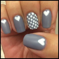 Put a little love in your #ManiMonday. #byMario  Photo Credit: @SoniaRNailsMT at #MarioTricociHawthorn