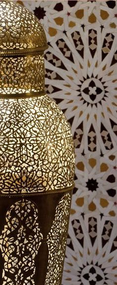 ~Detailing on a famed Yahya lamp from the Royal Mansour Hotel in Marrakech | House of Beccaria#