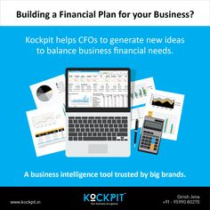Drawing up of a business financial plan, made truly easy with Kockpit Analytics  #Kockpit #decisionmaking #financialplan #CEO #CFO #business #datavisualization
