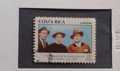 Manuel Mora V, Victor Ml. Sanabria M, Rafael A. Calderón G.  Reformadores sociales costarricenses.