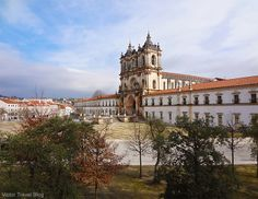 The Abbey of Santa Maria of Alcobaca, Portugal.
