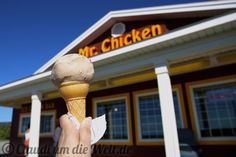 Best Ice Cream on Cape Breton in Cheticamp, Nova Scotia