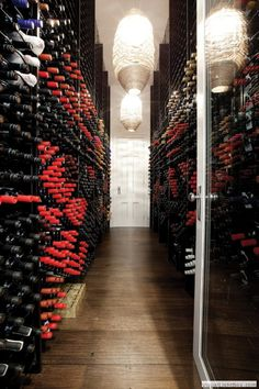 I know my hubby would love this cellar.