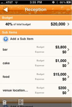 How's Your Wedding Budget Going? Here's The App That Will Help You!