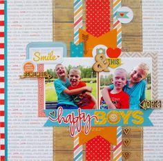 Happy+Boys - Scrapbook.com