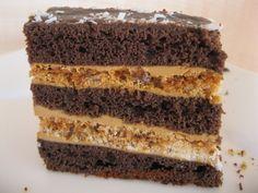 "Пляцок ""Різдвяна ніч"" Sweet Recipes, Cake Recipes, Hungarian Cake, Russian Desserts, Ukrainian Recipes, Traditional Cakes, Sweet Cakes, Homemade Cakes, International Recipes"