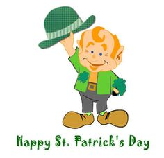 Happy St. Patrick's day Crafts, Clipart, Worksheets, Printables