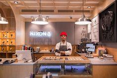 Customisation at Nixon 122 Prince Street, Soho, NY