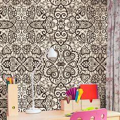 Papel de parede adesivo arabesco - StickDecor | Decoração Criativa