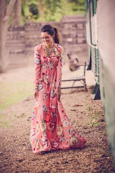 Laughter is the best medicine. Always/ Bohemian spirited long dress