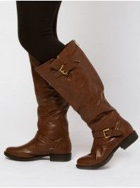 Buckle Rider Boots at eVanity