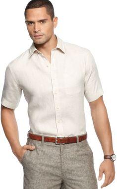 linen short sleeve shirt - Google Search