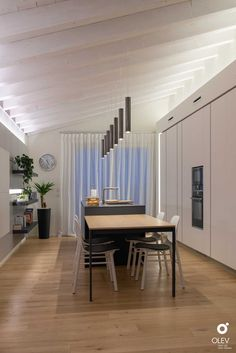 Dining Room Lamps, Decorative Room Dividers, Attic Spaces, Lighting Design, Minimalism, Sweet Home, Villa, Loft, Lounge