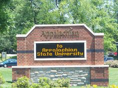 Appalachian State - How lucky am I to work here?!