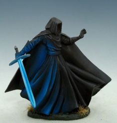 Wraith with Bastard Sword. Elmore Masterworks. Sculpted by Patrick Keith.