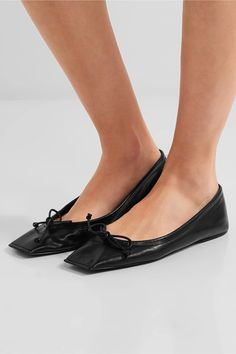 Black leather Slip on Made in ItalyLarge to size. See Size & Fit notes.